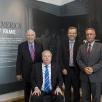 Visitors to Irish America Hall of Fame