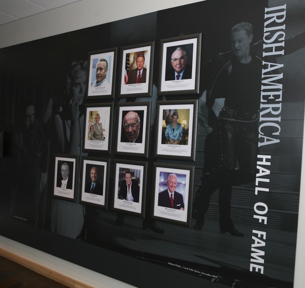 Pictures on The Irish America Hall of Fame