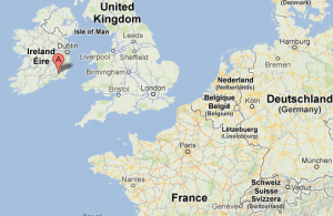Karte Dunbrody Famine Ship Wexford Irlande